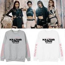 Kpop BLACKPINK Sweatshirt Album KILL THIS LOVE Around The Same Round Neck Sweater Loose Shirt