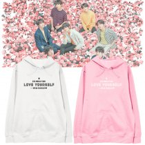 Kpop BTS Bangtan Boys Sweatshirt World Tour Concert Same Hooded Sweatshirt Hoodie Jacket