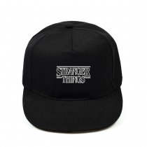 Kpop Stranger Things Logo Cap Baseball Cap Casual Cap Peak Cap