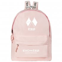 Kpop EXO Six Series BAEK HYUN CHAN YEOL Schoolbag Backpack Backpack Fresh College Style Canvas Bag