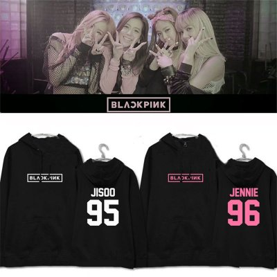 ALLKPOPER Kpop Blackpink Cap Hoodie [ SQUARE ONE ] Sweater Sweatershirt Pullover Rosé LISA