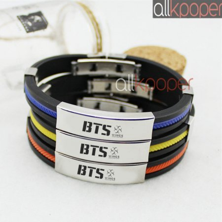New Kpop Bts Bracelet Bangtan Boys Feather Bracelet Junk Kook Fashion Jewelry Other Fine Bracelets