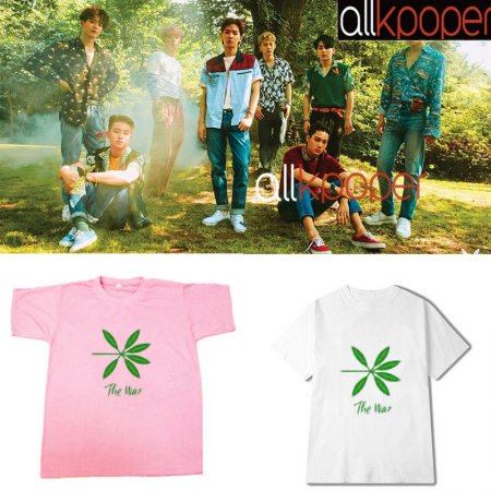ALLKPOPER KPOP EXO T-shirt The War Tshirt CHEN Tee Casual Tops KAI SUHO XIUMIN 2017 New