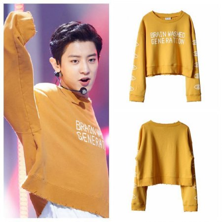 ALLKPOPER  KPOP EXO CHANYEOL Sweater Concert Hoodie THE WAR Sweatershirt 2017 Fashion