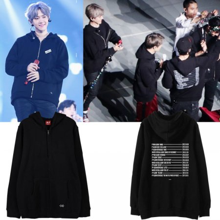 ALLKPOPER KPOP EXO Zipper Sweater The EℓyXiOn Pullover BAEKHYUN Sweatershirt SUHO DO