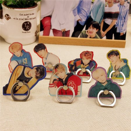 ALLKPOPER KPOP BTS Mobile Phone Stand Holder Bangtan Boys Finger Ring Grip Love Yourself