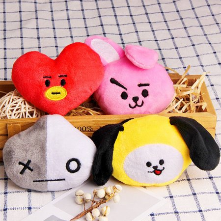 Kpop Fashion BTS Elastic Rope V Hair Ties Ponytail Holder Head Band Hairbands