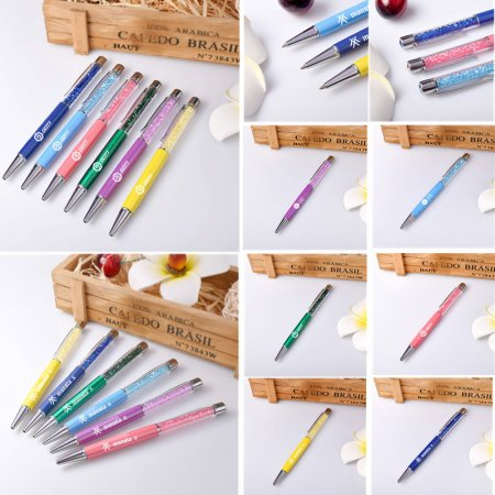 1pc KPOP GOT7 Pen Multi-color Jackson Bambam Jr EXO Monsta X Gift Ballpoint Pens
