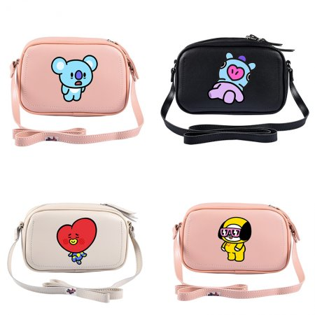ALLKPOPER Kpop BTS Shoulder Bag Chimmy Cooky Koya Mang RJ Messenger Bag