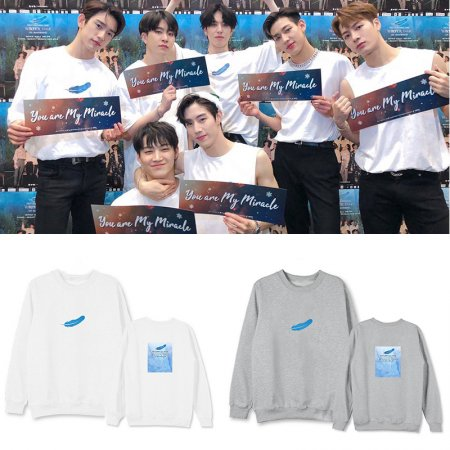 ALLKPOPER GOT7 Sweater NESTIVAL 2018 WINTER TALE Concert Round Neck Sweater