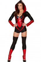 Sexy Red Spider Widow Hero Costume