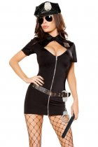 6pcs Police Hottie Costume