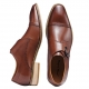 5007C Men Genuine Leather Shoe Slip-on Leather Lining Oxford Dress Shoes