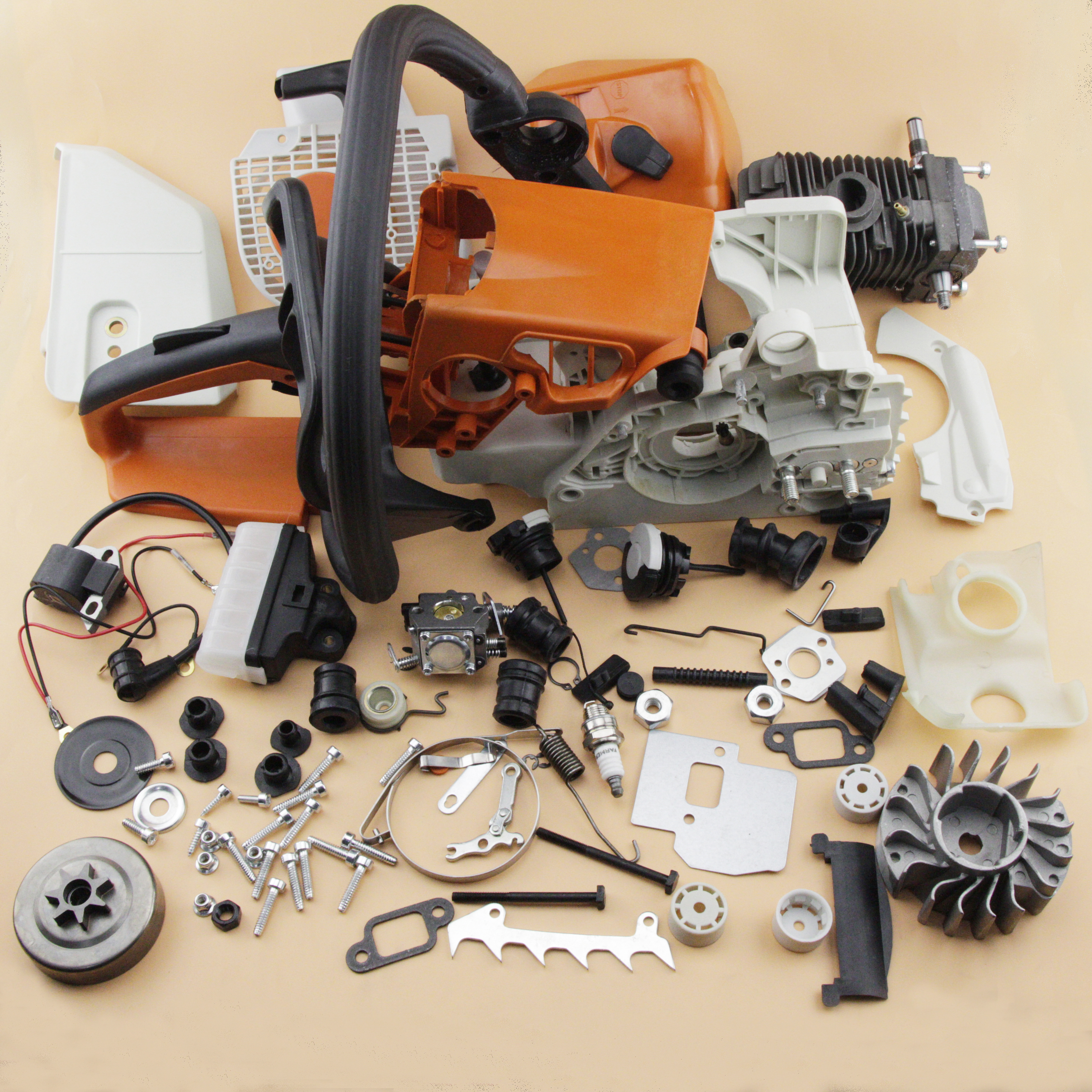 Complete Repair Parts For Stihl Ms250 025 Chainsaw Engine