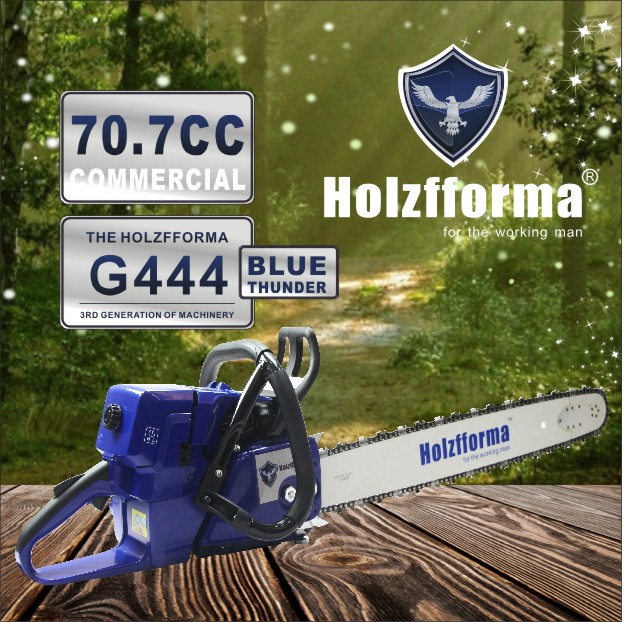 71cc Holzfforma® Blue Thunder G444 Gasoline Chain Saw Power Head Without  Guide Bar and Chain Top Quality By Farmertec One year warranty All parts  are