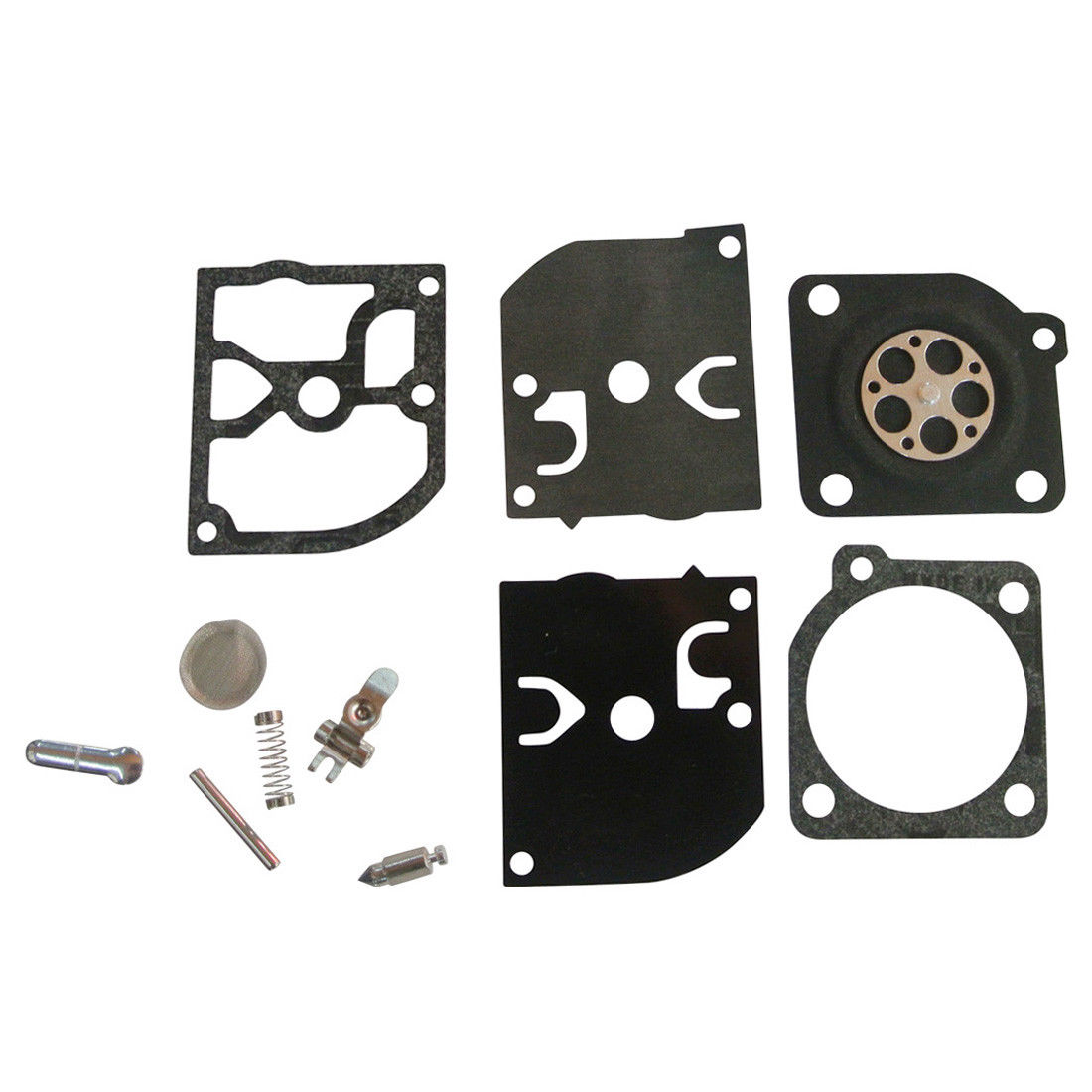 New ZAMA RB-39 Carb Carburetor Diaphragm Rebuild Repair Kit Fit John  Deere/Homelite 250 Chainsaw HBC-40 McCulloch 3200 3210 3214 3216 3516 225  3505