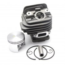 44.7mm Cylinder Piston Kit For Stihl 026 026PRO MS260 Chainsaw 1121 020 1217 With Pin Ring Circlip