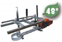 48 Inch Holzfforma Chainsaw Mill Planking Milling From 18'' to 48'' Guide Bar