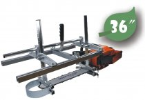 36 Inch Holzfforma Portable Chainsaw Mill Planking Milling From 14''  to 36'' Guide Bar