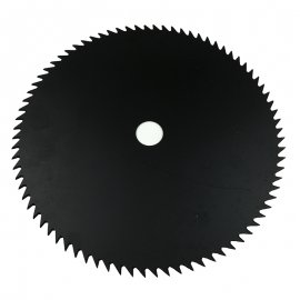 25.4MM / 1  Center Hole 80T Blade 255MM Diameter For Stihl Husqvarna Echo Homelite Honda Robin Yamaha Sindaiwa McCulloch Solo Dolmar Tanaka Red Max Sears String Trimmer Brush Cutter