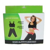 Neoprene Sport Slimming Top And Pants Set 0660
