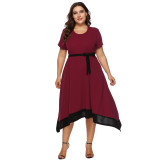 2019 New Arrival Plus Size Dress 11002