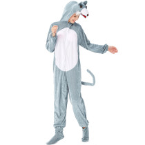 M-L Women Timber Wolf Animal Costume 3331