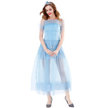 Women Blue Princess Costume 2907