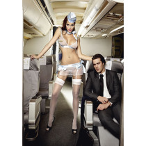 Sexy Airline Stewardess Costume Lingerie 3331A