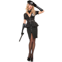 Adult Women Cop Costume 1706A