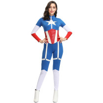 New Style Women Captain America Costume (TCLP4385)