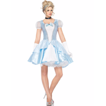 M-L Snow Princess Adult Costume 3615