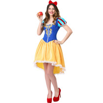 M-XXL Adult Women Snow Princess Costume 3371