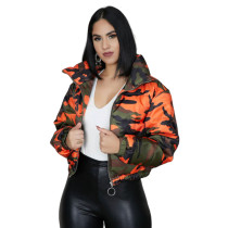 Camo Cotton Padded Jacket 4551