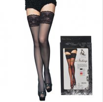 Lace Top Sheer Thigh High Stocking 2132