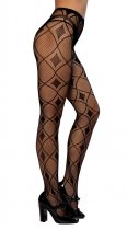 Diamond Print Pantyhose 8003