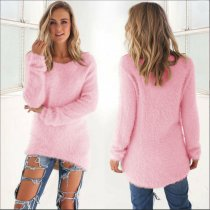 Pink Pullover Sweater 0179