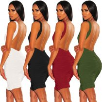 Backless Party Club Dress 2413