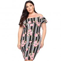 Plus Size Party Dress For Women 19287