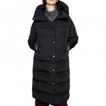 Plus Size Hooded Long Winter Coat DK039