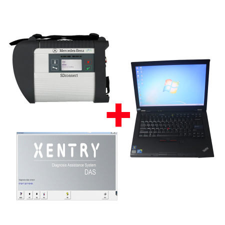 2017.12V MB SD C4 SD Connect Compact 4 Plus Lenovo T410 Laptop 4GB Memory Software Installed Ready to Use