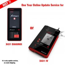 One Year Online Update Service for X431 DIAGUN III/X431 IV