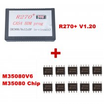 R270+ V1.20 For BMW CAS4 BDM Programmer Plus M35080V6 M35080 Chip