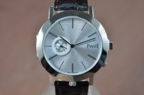 ピアジェPiaget Double sided SS/LE Silver/Silver Dial Swiss Quartz 600クオーツ