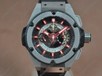 ウブロHublot Big Bang King Power SS/RU Skeleton dial A-7750 Chrono自動巻き