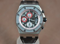 オーデマ·ピゲAudemars Piguet Royal Oak Chronograph SS/LE Black A-7750自動巻き