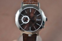 ピアジェPiaget Double sided SS/LE Brown/Silver Dial Swiss Quartz 600クオーツ