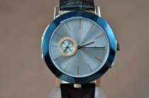 ピアジェPiaget Double sided RG/LE Silver/Blue Dial Swiss Quartz 700クオーツ