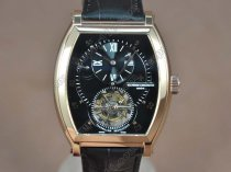 ヴァシュロン?コンスタンタンVacheron Constantin Malte Regulator Tourbillon RG/LE Blk Dial Flying Tourbillonトゥールビヨン