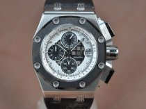 オーデマ·ピゲAudemars Piguet Royal Oak Offshore SS Black Swiss Eta 2836-2 Auto自動巻き
